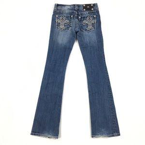 Miss Me Jeans JP5402B Embellished Boot Cut